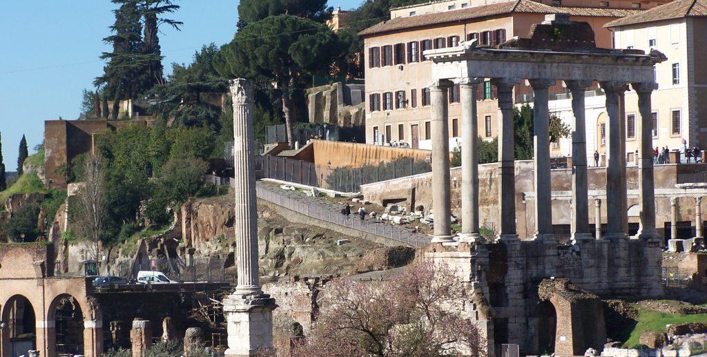 guidede ture, Forum-Romanum