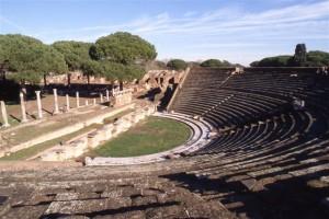 Ostia Antica teateret Rom