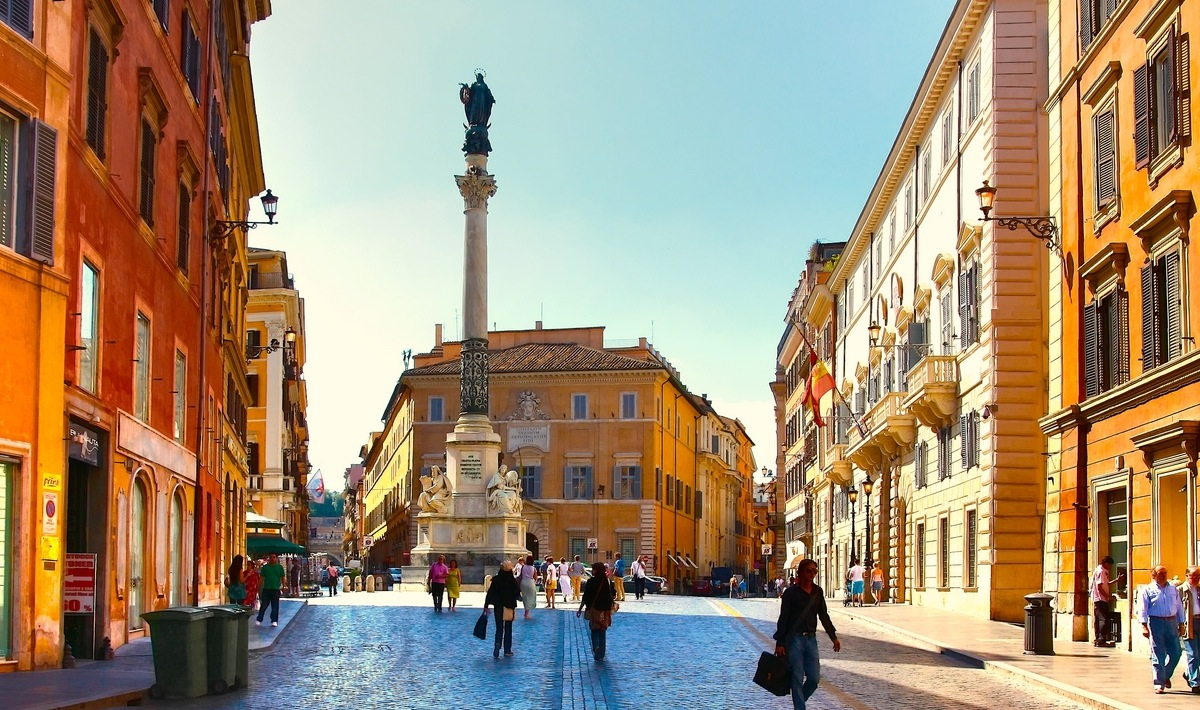 Piazza dei Spagna Rom