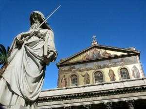Statue i Rom