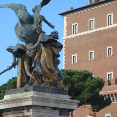Roman Statue i Rom