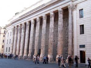 Hadrianstempel i Rom