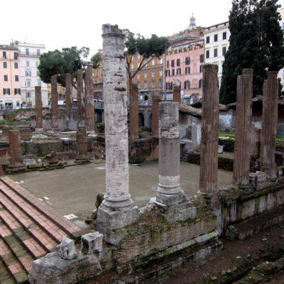 Largo-Argentina templerne, Rom