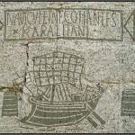 Temature Ostia Antica, Mosaik