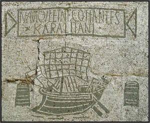 Ostia Antica, Mosaik