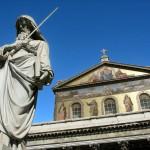 Statuer og kirker i Rom
