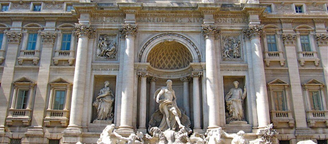 Trevi fontænen i Rom