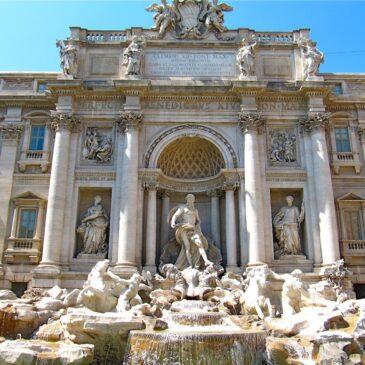 Byvandring gennem Roms pladser