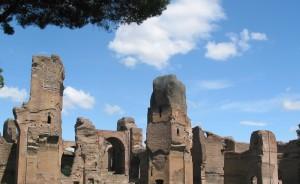 Caracallas Badeanlæg - Rom